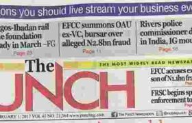 List of 38 Newspapers in Nigeria